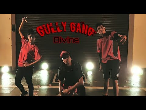 GULLY GANG - DIVINE (GUCCI GANG REMIX) 2018 | Dance Cover | Silver Steppers Dance Academy