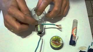 видео Почему не горит лампочка