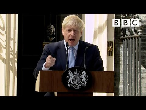 Boris Johnson's first speech as Prime Minister | FULL SPEECH