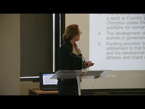 Olympism and the Olympic charter - Simone Pearce