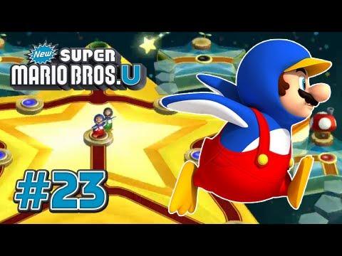 New Super Mario Bros U Wii U - Star World Part 2 - 100%