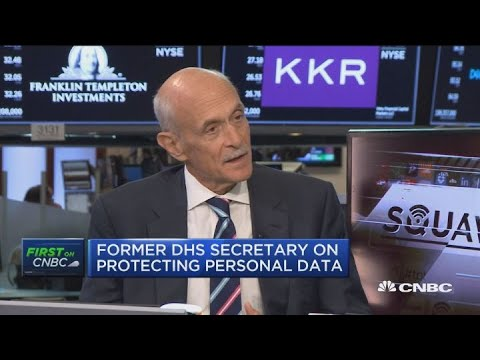 Michael Chertoff discusses the importance of data security