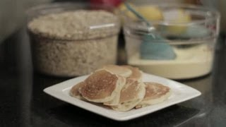How To Make Whole Grain Pancakes From Scratch Without Milk : Healthy Pancakes