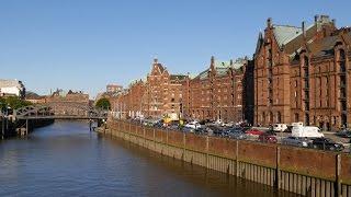 Hamburg, Germany: Speicherstadt, Binnenhafen/Zollkanal, Kehrwieder, Brooksbrücke - 4K Video Photo(Video Image 4K Channels: http://www.videoimage4k.com Videobilder Channels: http://www.videobilder.eu Recording date: 06-2015 Notes: Video Photos are ..., 2015-06-27T14:35:22.000Z)