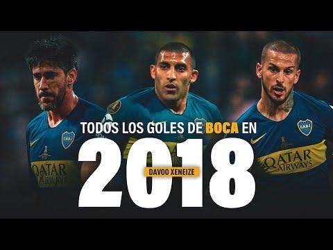 TODOS los GOLES de BOCA JUNIORS en 2018 (74 goles)