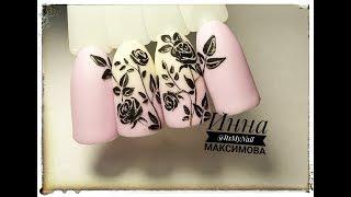 🌺 НЕЖНЫЙ дизайн ногтей гель лаком 🌺 РОЗЫ на ногтях 🌺 ЦВЕТЫ на ногтях 🌺 АЛЛЕРГИЯ на гель лак 🌺