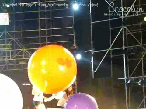 2009.02.07 SMTOWN Bangkok - Zhang Li Yin Purple Ball Fancam [capri-shiqi@Chocolyn]
