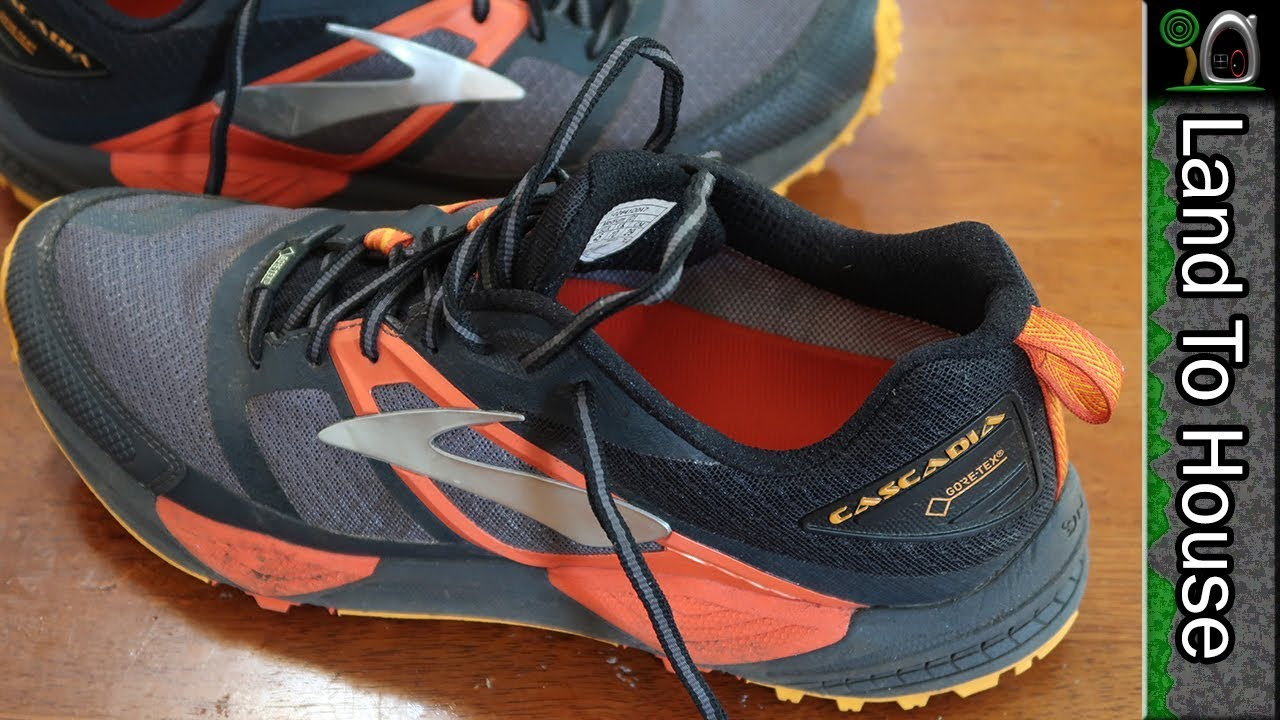 Brooks Cascadia 12 GTX Review - YouTube