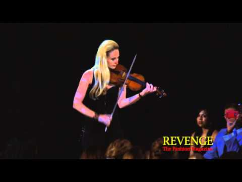 Jane Hunt, Violinist (V.2) - [Couture Fashion Week NY Spring 2011]