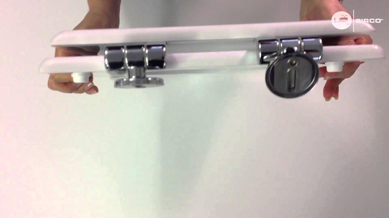 Sedile copriwc pozzi ginori serie ydra youtube for Tavoletta wc dolomite