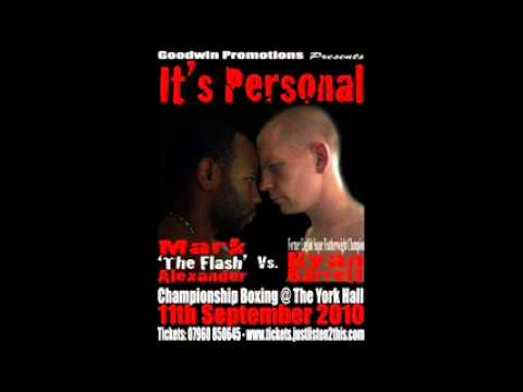 It's Personal: Ryan Barrett vs Mark Alexander