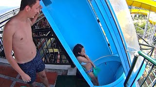 Loop Blue Water Slide at Adaland thumbnail