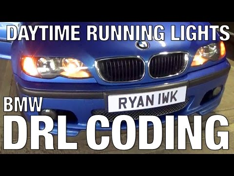 BMW E46 DRL Coding Options Daytime Running Lights