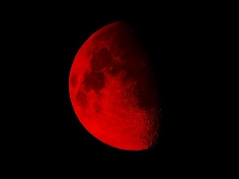Total lunar eclipse to bring an impressive red blood moon 'Blood moon' video