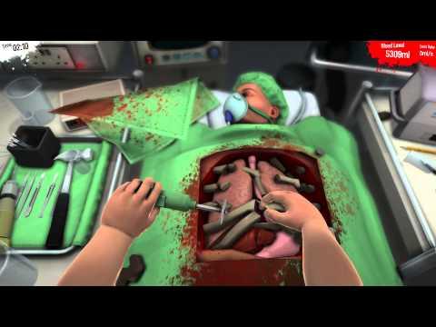 SURGEON SIMULATOR 2013 - Heart Transplant w/ Razer Hydra