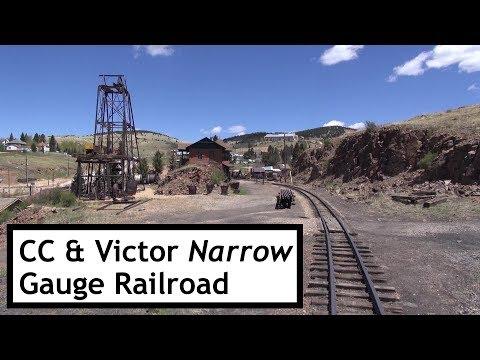 A Corvair Trip & Cripple Creek And Victor Narrow Gauge Railroad
