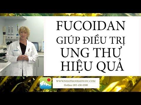Nghiên cứu chứng minh fucoidan giúp điều trị ung thư hiệu quả