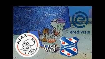 Eredivisie Teams 2018/19 portrayed by Spongebob