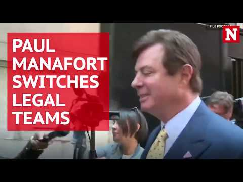 Paul Manafort ditches his legal counsel for new firm