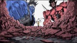 مانجا ون بنش مان  سايتاما ضد غوكيتسو(One Punch Man Saitama vs Gouketsu Fan made)