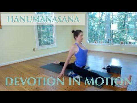 intermediate hanumanasana slow yoga practice 75 minutes
