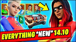 *NEW* Fortnite v14.10 Update PATCH NOTES - ALL LEAKED SKINS, BUILD A HERO ITEM SHOP,  STARK TOWER