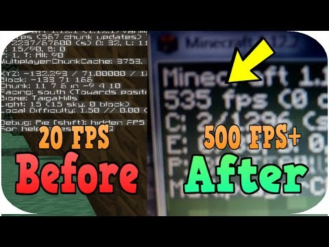✔️️How To Boost Your Minecraft FPS/Reduce Lag Dramatically! Ultimate Guide