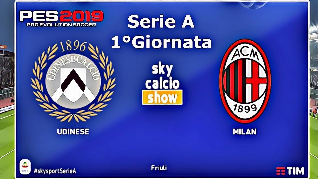 Udinese Vs Milan 1°Giornata Serie A
