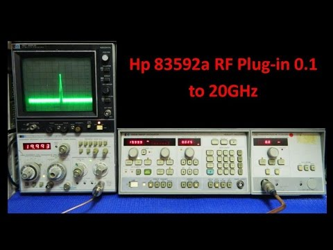 HP 83592A RF Plug-In front RF Output Modification