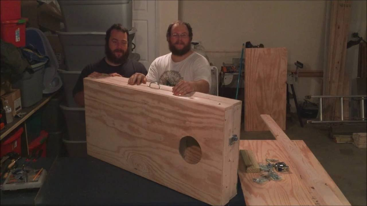 How To Make A Portable Cornhole Board DIY