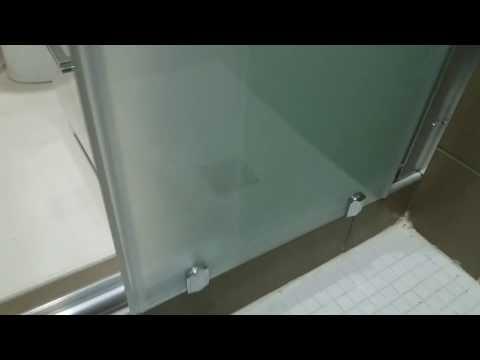STEKLOMIX - Душевая раздвижная кабина на 4 секции из матового стекла