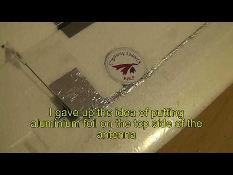 Singularity antenna suite 2eme - flight test