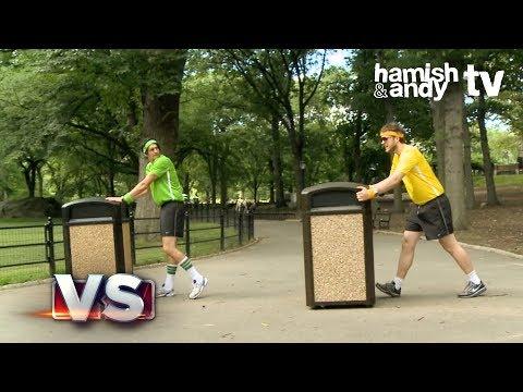 Hamish VS Andy | Bin Racing