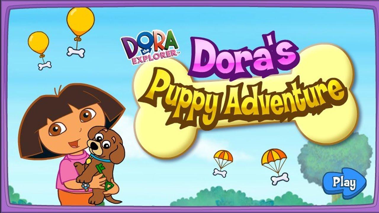 Nick Jr Puppy Playground - Dora the Explorer PAW Patrol ...