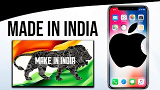 Apple iPhone Made in India