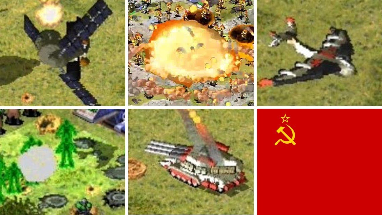 Red Alert 2 Mod Reborn Special Units Buildings And Super Weapons