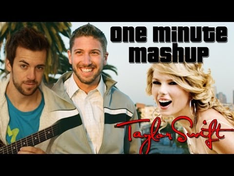 Taylor Swift Medley - One Minute Mashup #18 Feat. Brian O'Sullivan