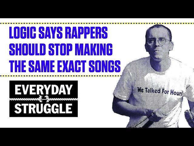 Logic Says Rappers Should Stop Making the Same Exact Songs