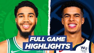 CELTICS Vs NUGGETS FULL GAME HIGHLIGHTS | 2021 NBA Season