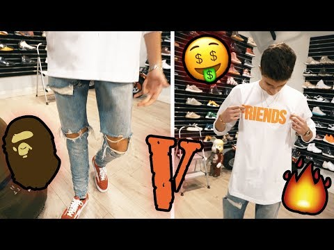 SHOPPING FOR CRAZY FALL HYPEBEAST OUTFIT!