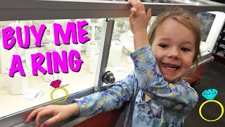BUY ME A RING MOM! Funny Sandra Shopkins Costume Baby Laughing National Bubble Bath Day Family Vlog