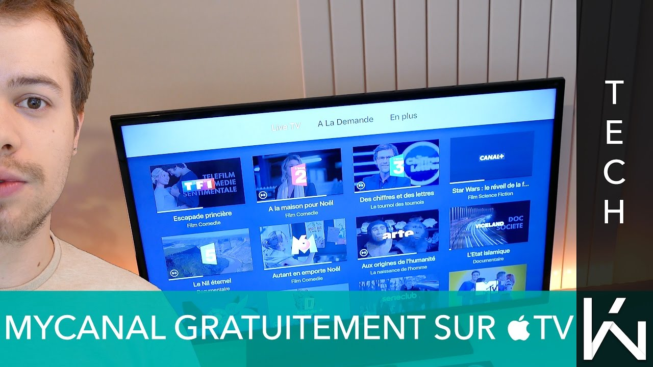 MyCanal gratuitement sur Apple TV  via Freebox R    volution    YouTube