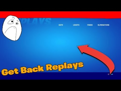 How To Get Replay Mode Back PS4 *Fixed*