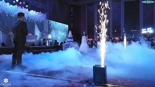 Funk Circuit™ Low Lying Nimbus Fog ☁️ for a captivating Wedding at the Okada Manila Grand Ballroom.