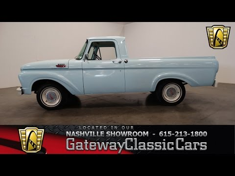 1963 Ford F100,Gateway Classic Cars-Nashville#349