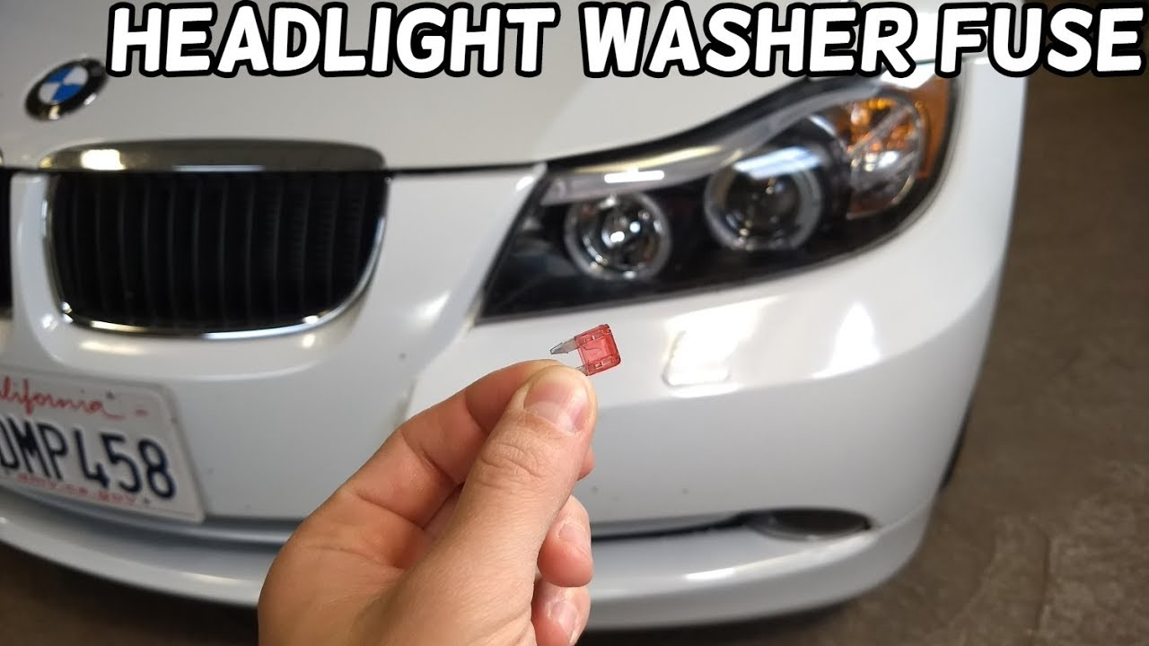 medium resolution of headlight washer fuse location bmw e90 e91 e92 e93 headlamp washer
