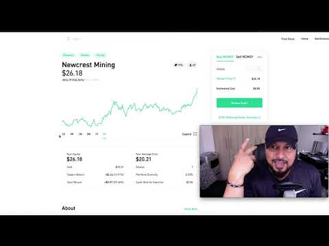 1 New Mining Stock Added To My $13,000 Robinhood Portfolio | NEWCREST MINING
