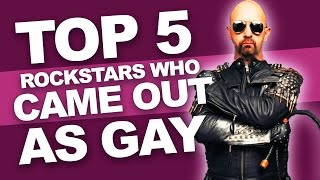 Top 5 Rockstars Who Came Out As Gay