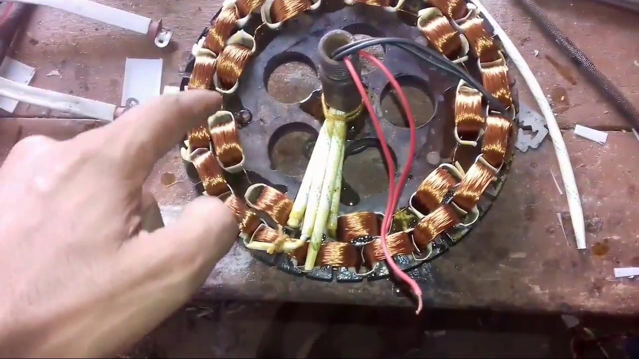 Ceiling Fan Rewinding Data 9 19 Coil