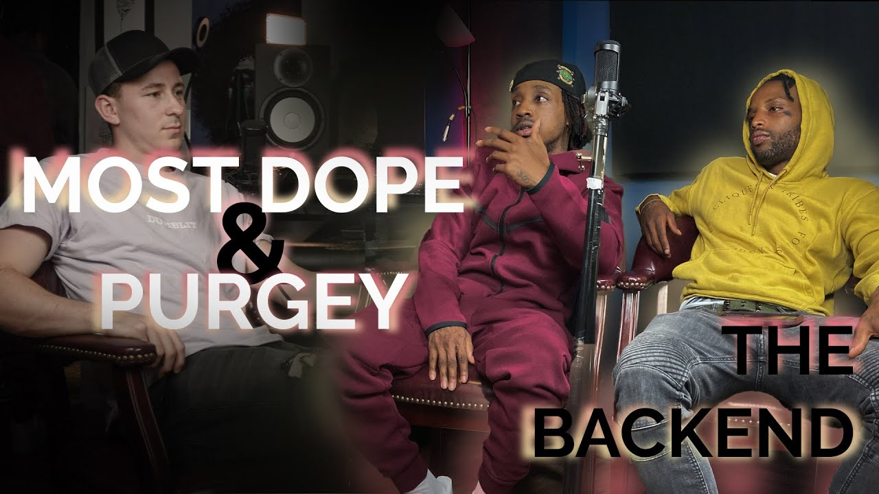 a1 MostDope + HxtbxyPurgey talk Jersey, How They Met, Music Industry Ambitions + More | The Backend